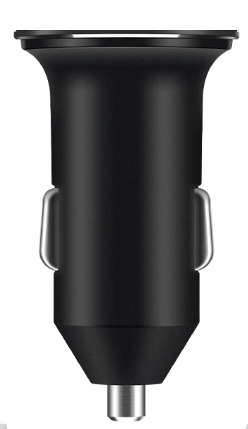 vooc car charger oppo black