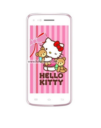 Spesifikasi lengkap Smartphone Evercoss A7s hello Kitty