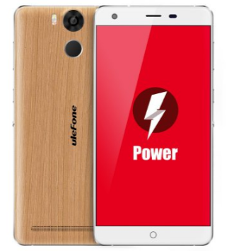 Ulefone Power Wooden Smartphone Casing Kayu
