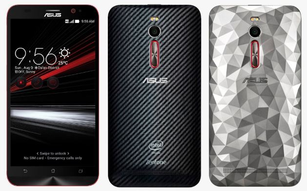 Harga Asus Zenfone 2 Deluxe Special Edition Internal 256 GB