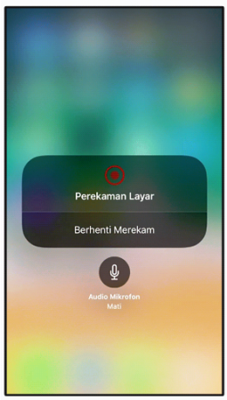 Cara Merekam Layar Screen Record di iPhone iPad iPod Touch
