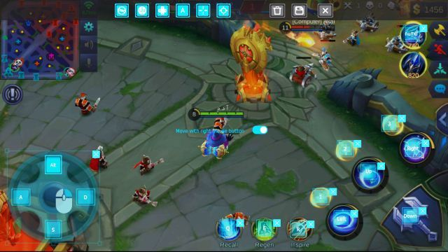 Cara Setting Keyboard Control Mobile Legends di Nox PC